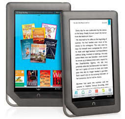 NuShield films used to avoid reflections and glare on eReaders
