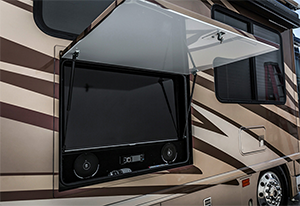 RV Outside TV