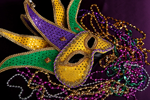 antireflective screen protectors for devices at Mardi Gras