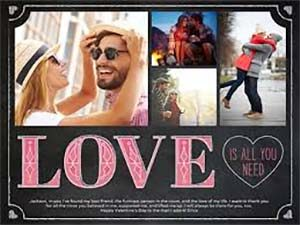 Use NuShield Triple A Antiglare film when creating Valentine's Day Slideshows