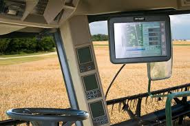 Tractor displays equipped with NuShield DayVue Anti-reflective films