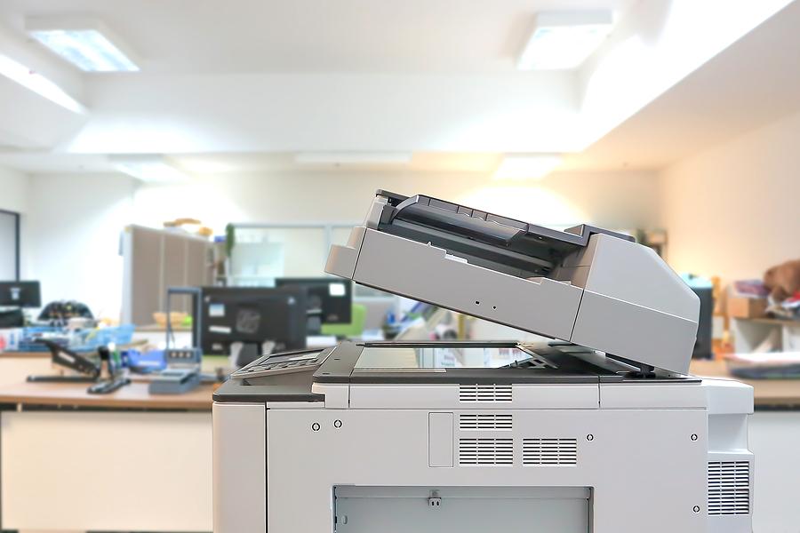 Office Equipment Displays